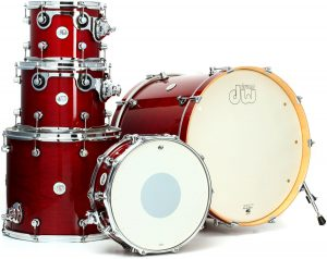 DW DESIGN SERIES 5-PIECE SHELL PACK (CHERRY STAIN)